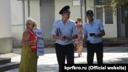 Одиночний пікет проти пенсійної реформи в Совєтському, 16 серпня 2018 року