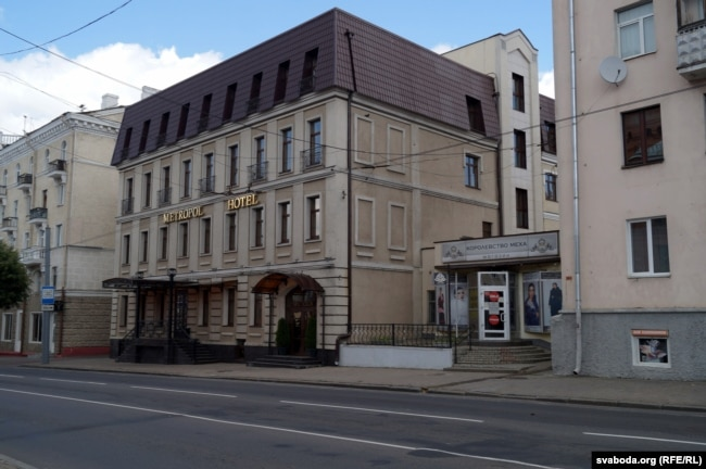 Здание, в котором располагалось отделение банка Дукат