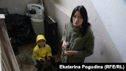 Елена Иванова с сыном