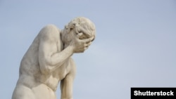 Каин, статуя работы Анри Видаля, 1896, Тюильри, Париж