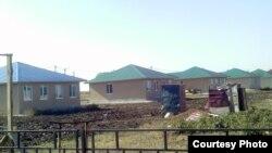Оралмандардың Өскемен түбіндегі Нұрлы көш ауылы. (Көрнекі сурет)