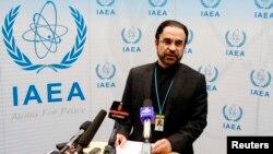 رضا نجفی، نماینده دائم ایران در آژانس بینالمللی انرژی اتمی