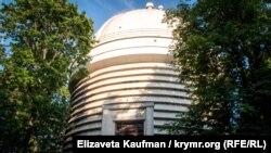 Крымская астрофизическая обсерватория возле поселка Научный (Бахчисарайский район), июнь 2018 года