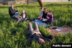 Чеський гурт «Міланош» на літній школі зі співу в Україні (архів гурту «Міланош»)