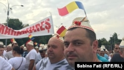 Manifestația PSD în Piața Victoriei, 9 iunie 2018