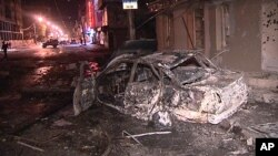 Результаты одного из терактов в Махачкале
