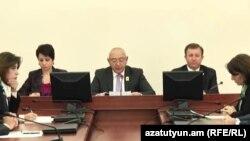 Заседание ЦИК Армении, Ереван, 2 ноября 2018 г.