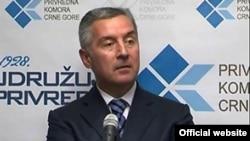Milo Đukanović u Privrednoj komori