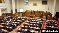 Վրաստանի խորհրդարանի նիստը, արխիվային լուսանկար