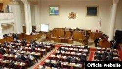 Глава Совета безопасности Гига Бокерия сегодня официально представил проект концепции в парламент