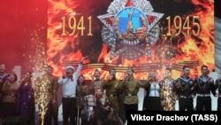 Празднование 9 мая в Севастополе