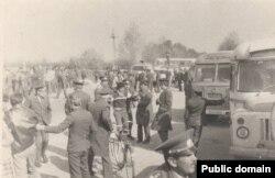 Таманський похід. 1987