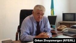 Главный врач диспансера Жаксыбай Баймырзаев. 2 сентября 2013 года.