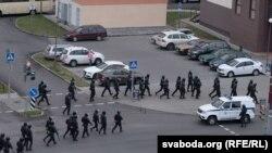 Марш падтрымкі рабочых заводу «Гродна-Азот». 31 кастрычніка.
