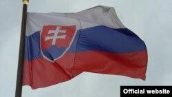 Флаг Словакии. Иллюстративное фото.