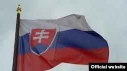 Знамето на Словачка