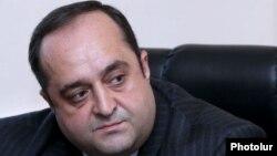 Министр юстиции Армении Ованнес Манукян (архив)