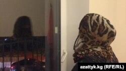 Женщина из Кыргызстана, которая предположительно присоединилась к экстремистской группировке. Иллюстративное фото.