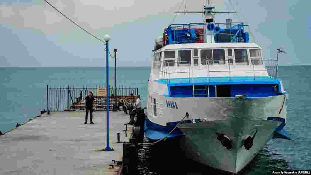На прогулочном теплоходе «Янина» ждут наплыва туристов