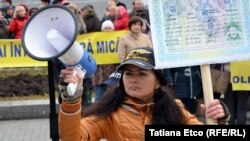 Deținătorii de patentă și-au reluat protestele