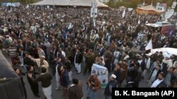 An overview of the Pashtun protest in Islamabad on February 1.