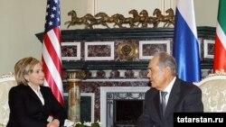 Президент Татарстана без труда нашел общий язык с госсекретарем США.
