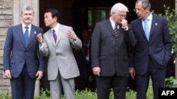 Потсдамские встречи министров предворяют саммит в Хайлигендамме
