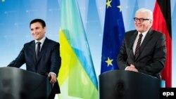 Голова МЗС України та Німеччини Павло Клімкін та Франк-Вальтер Штайнмаєр