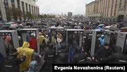 Ռուսաստան - Օգոստոսի 10-ի բողոքի ցույցը Մոսկվայում