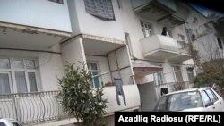 Нагорный Карабах, дом, в котором живут инвалиды карабахской войны. Январь 2011 г