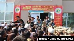 Парламентарните избори во Ош, Киргистан.