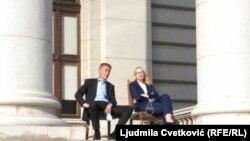 Aleksandar Martinović i Sandra Božić