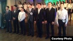 """""""Татар егете"""" бәйгесендә катнашучылар"""