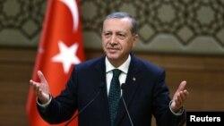 Թուրքիայի նախագահ Ռեջեփ Էրդողան, օգոստոս, 2015թ․