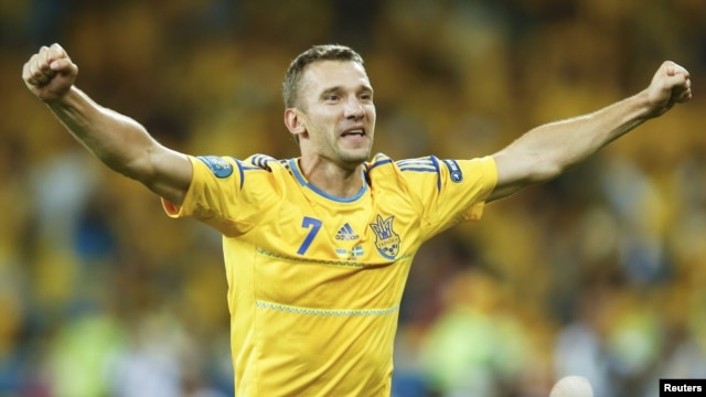 Former European Footballer of the Year Andriy Shevchenko