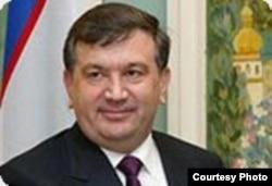 Өзбекстан премьер-министрі Шавхат Мирзиёев.