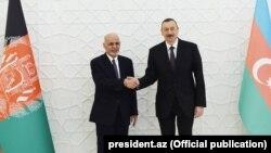 Prezident İlham Əliyevin Əfqanıstan İslam Respublikasının prezidenti Məhəmməd Əşrəf Qani ilə görüşü.. 01dek2017