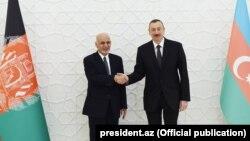 Əfqanıstan prezidenti Əşrəf Qaninin Azərbaycana səfəri. 2017
