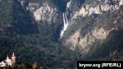 Водоспад Учан-Су, Ялта, архівне фото 2009 року