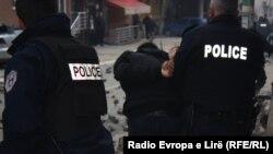 Pamje nga protesta e 27 janarit