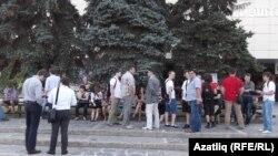 Уфада Навальный тарафдарлары җыены