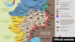 Ситуація в зоні бойових дій на Донбасі, 18 листопада 2015 року