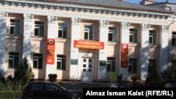 Бишкектеги шайлоо бекеттеринин бири.