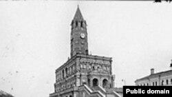 """Благодаря стараниям археологов удалось сохранить один из наиболее знаковых объектов Москвы — Сухареву башню: через ее руины планировалось построить подземный переход. [Фото — <a href=""""http://moskva.kotoroy.net"""" target=_blank>«Москва, которой нет»</a>]"""