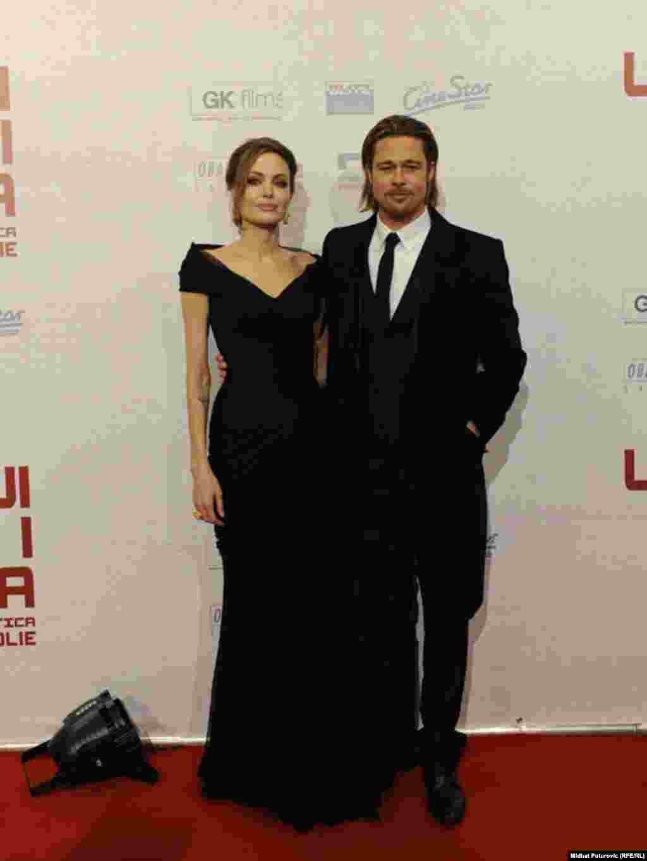 Holivudski par na crvenom tepihu