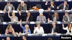 Pmje nga një votim në Parlamentin Evropian