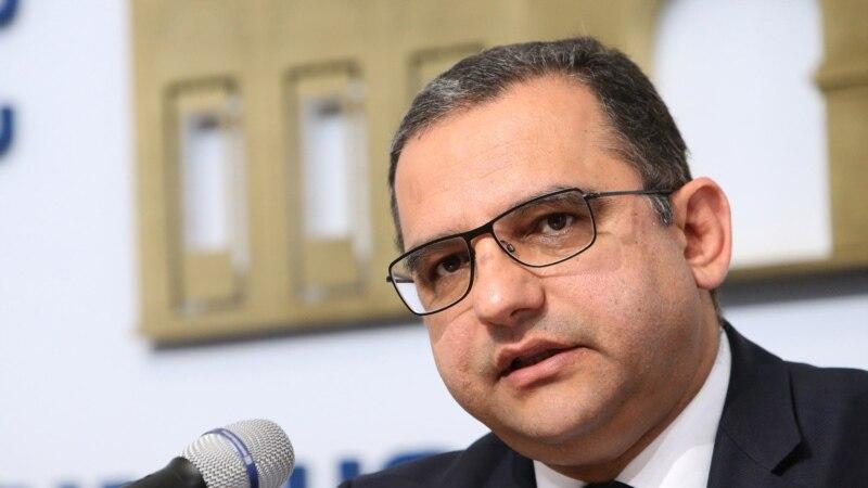 Армениянын экономика министри кызматтан кетти