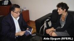 Kenan Crnkić u razgovoru sa novinarkom RSE Aidom Đugum