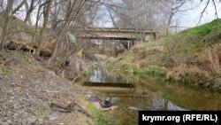 Река Кача, март 2020 года