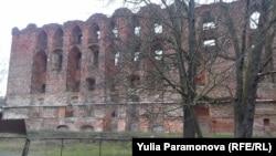 Развалины замка Рагнит